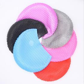 【泳帽】硅胶水滴游泳帽 女士长发游泳帽大号硅胶水滴帽泡泡帽