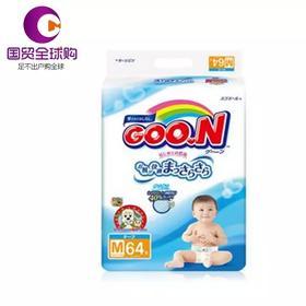 日本大王纸尿裤M64(适合6-11kg宝宝)尿不湿