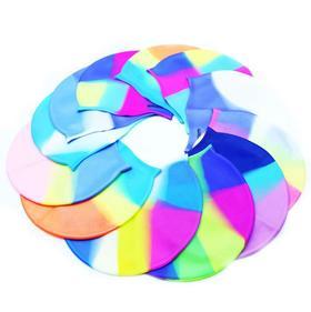 【泳帽】新款成人泳帽 男女士硅胶超薄舒适高弹炫彩防水游泳帽