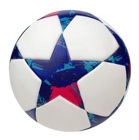 【足球】黏胶PU贴皮足球 4号足球