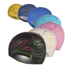 【泳帽】新品男女PU涂层帽防水护耳专业泳帽长舒适不勒头游泳帽