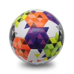【足球】5号pu皮迷彩防滑耐磨足球 中小学生比赛用球