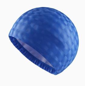 【泳帽】纯色防水护耳透气不勒头时尚男女水立方亮片泳帽