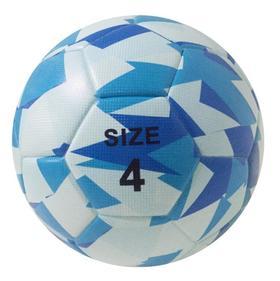 【足球】迷彩胶粘pu4号足球 football世界杯足球