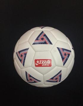 【足球】正品 红双喜DHS FS3101-1 光面革 儿童娱乐训练 3号 足球