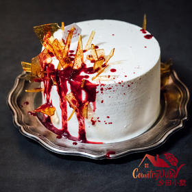 万圣节窜血蛋糕