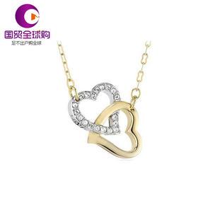 【香港直邮】Swarovski 施华洛世奇 女士镀金色拼镀白金色仿水晶项链