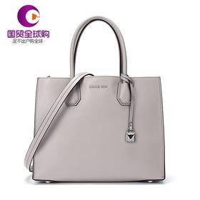 【香港直邮】Michael Kors 迈克·科尔斯 MERCER系列女士灰色牛皮手提包