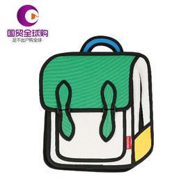 【保税区直发】mobee 莫贝二次元儿童书包小孩学生包男女孩双肩背包 绿色款