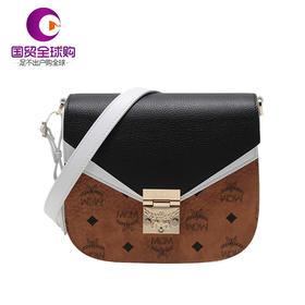 【香港直邮】MWS9SPA21CB 棕色黑色拼接女士挎包