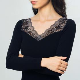 VIVIMOSCHINE·蕾丝塑形保暖内衣套装 | 贵妇级打底衫,比羊绒还要松软、保暖