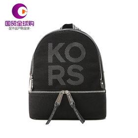 Michael Kors 迈克·科尔斯 女士黑色字母图案背包