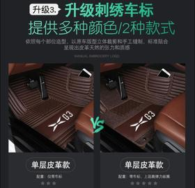 【汽车脚垫】适用于红旗H5大全包围汽车脚垫专用荣威RX5MAX汽车新能源汽车脚垫