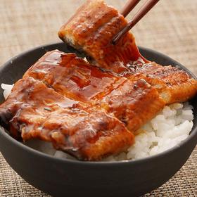 [蒲烧鳗鱼]日本鳗鲡 传统日式方法烤制 肉多汁少 加热即食