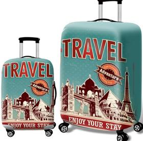 【箱套】加厚弹力拉杆箱箱套行李箱旅行箱套保护套数码印花