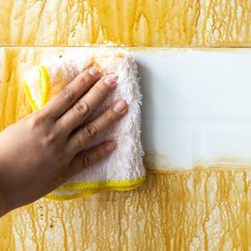 【拍2发3 】洗碗革命,一抹油污全不见!一款不用洗洁精的神奇洗碗巾,1分钟洗200个盘子毫不费力