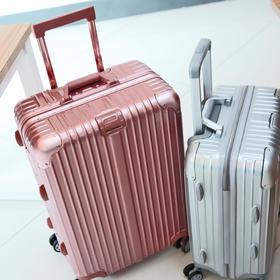 黛黛安铝框拉杆箱28 行李箱女学生26寸万向轮 密码旅行箱男24皮箱子20寸