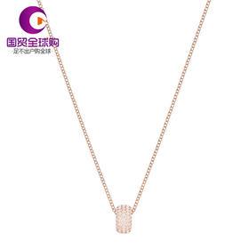 【香港直邮】Swarovski 施华洛世奇 玫瑰金色仿水晶项链