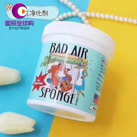 【保税区直发】BadAirSponge甲醛装修异味空气清新净化剂孕妈适用持久清新397g