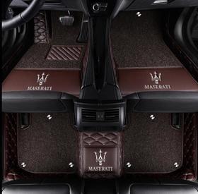 【汽车脚垫】适用于玛莎拉蒂总裁SUV莱万特Levante吉博力ghibli专用汽车脚垫