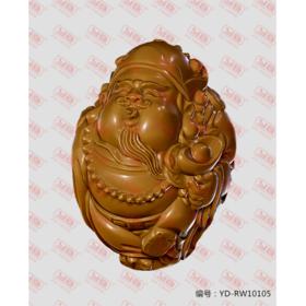 YD-RW10105 核雕财神 立体圆雕图纸