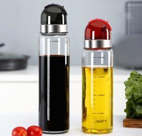 【油壶】玻璃油壶家用品厨房防漏装油瓶油罐