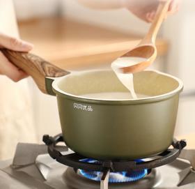 【奶锅】麦饭石小奶锅不粘锅家用宝宝辅食锅婴儿锅