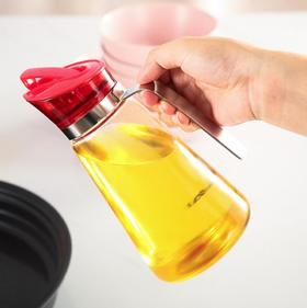 【油壶】玻璃油壶防漏装油瓶不锈钢油罐