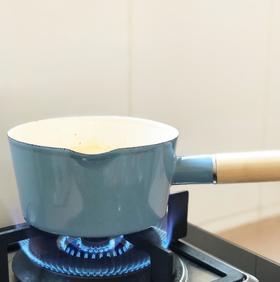 【奶锅】搪瓷奶锅 青岚单柄木把珐琅瓷加厚带漏嘴15cm电磁炉通用