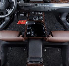 【汽车脚垫】庆玲五十铃DMAX皮卡MUX瑞迈风骏5全包围汽车脚垫丝圈双层