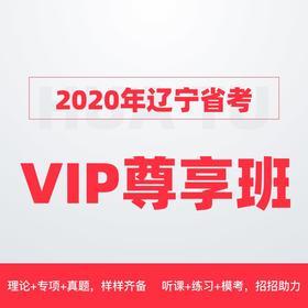 2020辽宁省VIP尊享班