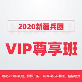 2020新疆兵团VIP尊享班(1300+超长课时,43册图书礼包,更强师资,更全课程,VIP服务)