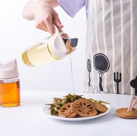 【油壶】密封玻璃油瓶厨房家用加厚防漏油壶