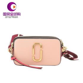 【香港直邮】MARC JACOBS 马克·雅可布 女士皮质粉色挎包