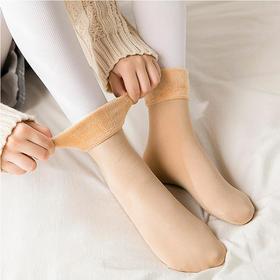 【预售中】抵御零下10度严寒【抗寒加绒雪地袜】蓄热暖脚不冻脚 天鹅绒蓄热保暖