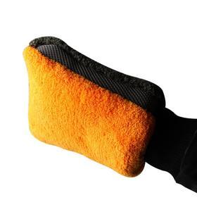 【清洁工具】汽车清洁工具手套防水熊掌洗车手套不湿手双面加绒雪尼尔家用
