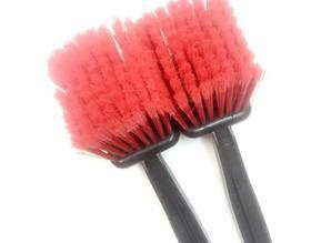 【内饰清洁】汽车轮胎清洗清洁刷长柄红色刷汽车内饰大号座椅刷