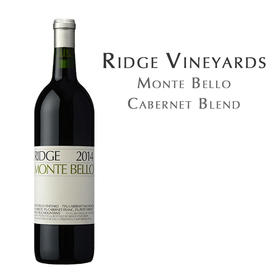 瑞园丽山, 美国圣克鲁兹山 Ridge Monte Bello Cabernet Blend, USA Santa Cruz Mts