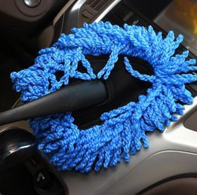 【清洁工具】汽车美容清洁洗车工具三角小蜡刷