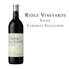 瑞园庄园卡本妮苏维翁, 美国 Ridge Estate Cabernet Sauvignon, USA Santa Cruz Mts