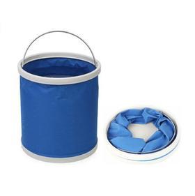 【清洁工具】汽车洗车水桶收缩桶 户外旅行钓鱼折叠水桶 车载便携式洗车水桶