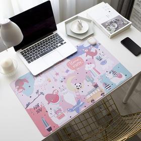 S【可爱网红款】桌面上的暖垫加热发热板写字台面电热大号卓办工取暖桌垫家用儿