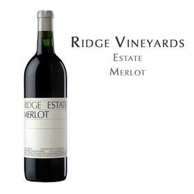 瑞园庄园梅洛, 美国 Ridge Estate Merlot, USA
