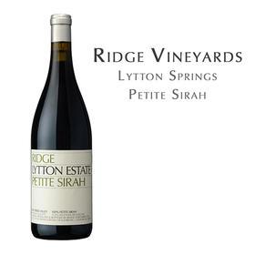 瑞园庄园龙登泉小西拉,美国 Ridge Lytton Estate Petite Sirah, USA