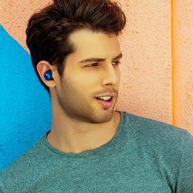 【JBL之音真无线】JBL T280TWS真无线蓝牙耳机 羽翼式耳套 入耳式 纯正低频音效 IPX5级防水防汗跑步耳麦 金属充电盒 苹果安卓手机通用