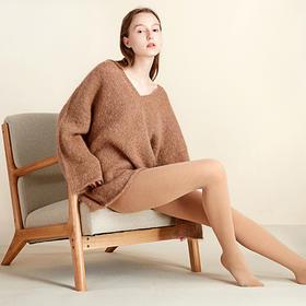 t7羊绒打底裤袜   更保暖的山羊绒,亲肤丝滑舒适透气,薄而温暖显瘦百搭,