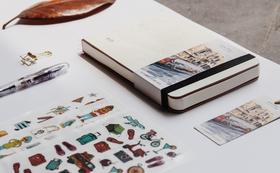 行家十周年精装笔记本