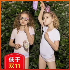 Dior设计总监给儿童做了条内裤?David&Annie 大卫安妮儿童纯棉内裤(3条装)!轻盈柔滑,5倍透气,360°贴身呵护!