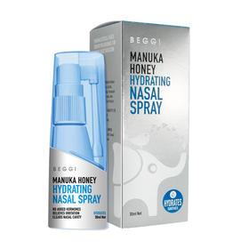 【新西兰BEGGI麦卢卡护鼻水】鼻炎救星 鼻腔高渗透补水  解决鼻腔问题 成份温和 预防感冒