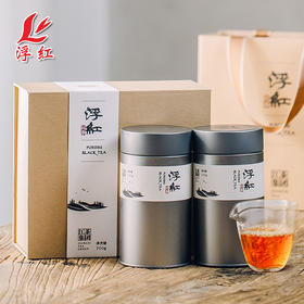 江茶集团 浮红特级红茶2019新茶浮梁茶叶礼盒装浮红礼盒200g